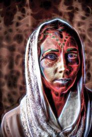 Photo of Amanda in Fantasy Style Photo Illustration format