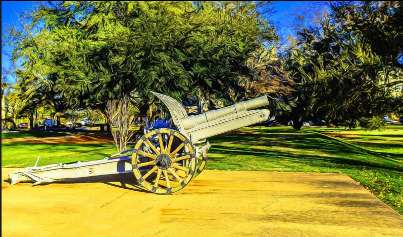 Cannon in Jackson, MS.